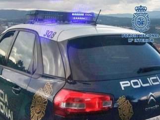 Coche patrulla de la Policía Nacional en imagen de archivo
