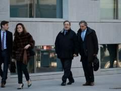 Narcís Serra llega a la Audiencia Nacional para declarar por el agujero de 721 millones de Catalunya Caixa
