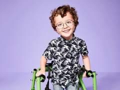 Niños con discapacidad, modelos de River Island