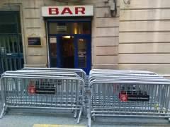 Obras y manifestaciones hunden a un restaurante cerca de la Via Laietana