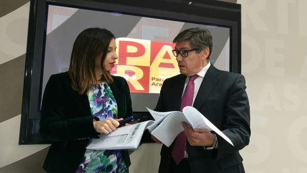 Elena Allué y Arturo Aliaga