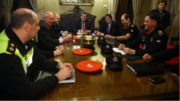 Reunión de la Mesa de Seguridad en Bilbao