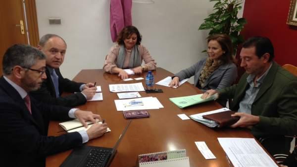 Reunión de Endesa con el Ayuntamiento de Jaén