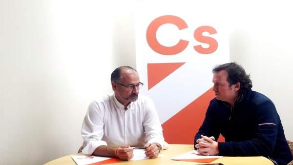 Luis Fuentes y David Blanco.