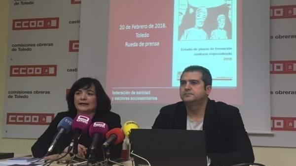 Chelo Cuadra, y Pablo Caballero
