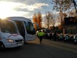 Control de vigilancia de los autobuses escolares