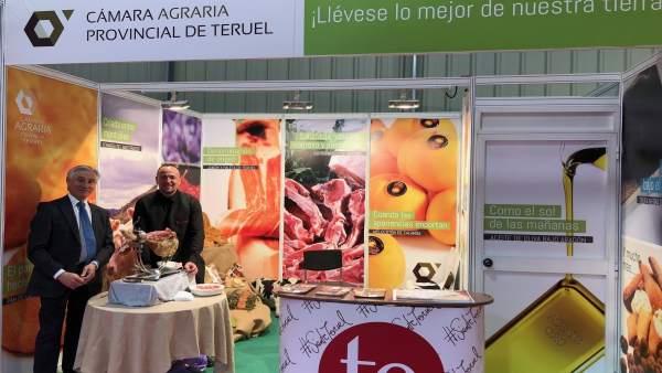 Productores agroalimentarios de Teruel muestran su trabajo y productos en FIMA