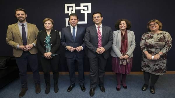 Instituciones participan en la Junta Directiva de OnGranada