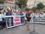 Concentración y marnifestación en apoyo a la familia de Sonia Iglesias