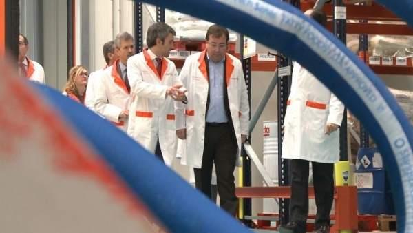 Vara inaugura Factoría Herma
