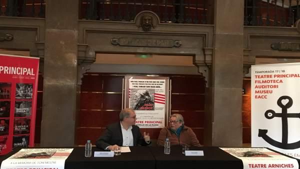 Presentación de los tres conciertos de despedida de Paco Muñoz