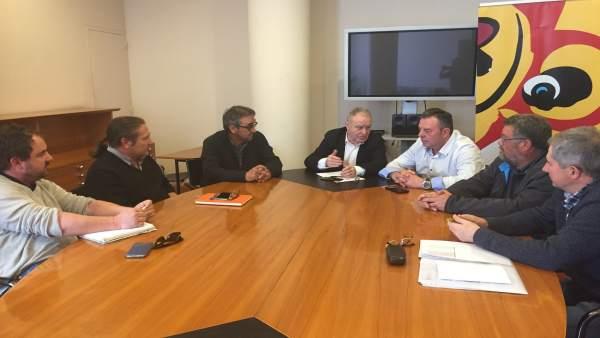 El presidente de la DPH se ha reunido con UAGA