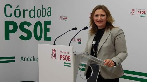 La parlamentaria andaluza del PSOE por Córdoba, Sonia Ruiz