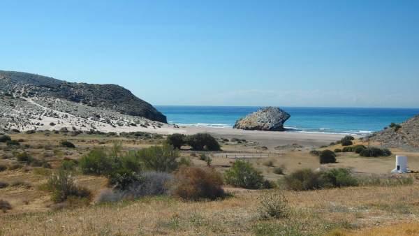 Playa de Mónsul. Parque Natural de Cabo de Gata-Níjar
