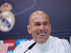 """Zidane: """"Estoy bien aquí y lo que quiero es quedarme mucho tiempo"""""""