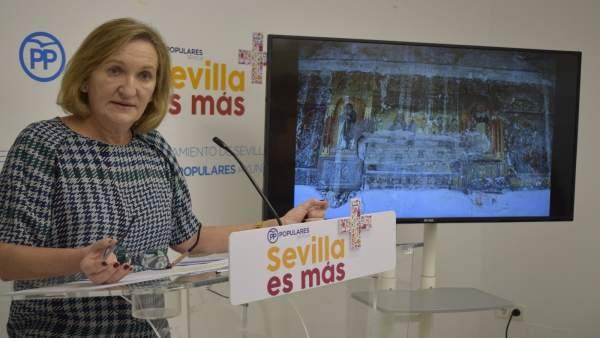 La concejal del PP en el Ayuntamiento de Sevilla María del Mar Sánchez Estrella