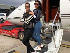 Escapada romántica de Ronaldo con su novia Georgina