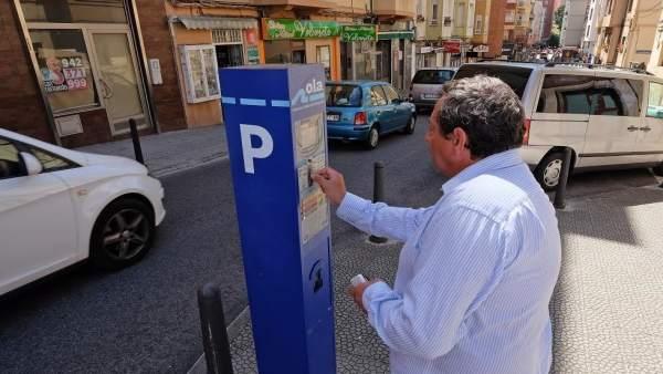 Parquímetros OLA Santander. Aparcamiento. Ciudad.
