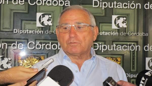 El portavoz de Cs en la Diputación, José Luis Vilches