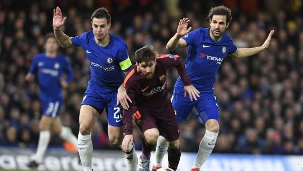 Messi en el Chelsea - Barça