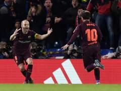 Fin a la mala racha de Messi ante el Chelsea: a la novena, marcó