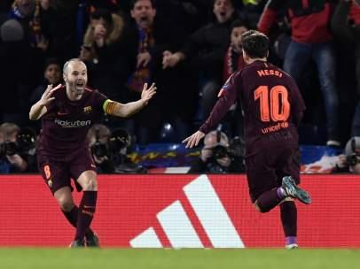 Messi e Iniesta
