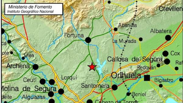 Terremoto en Murcia