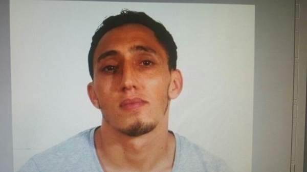 Driss Oukabir, el presunto terrorista que juzgan este jueves por maltrato a su pareja.