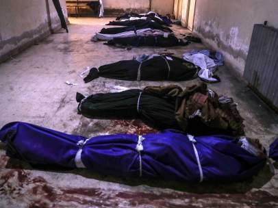 Morgue en Siria