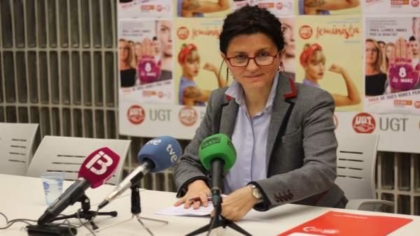 Secretaria de Políticas Sociales e Igualdad de UGT, Francisca Garí