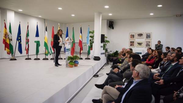 Susana Díaz en los actos del XXV Aniversario de la Mancomunidad de Beturia