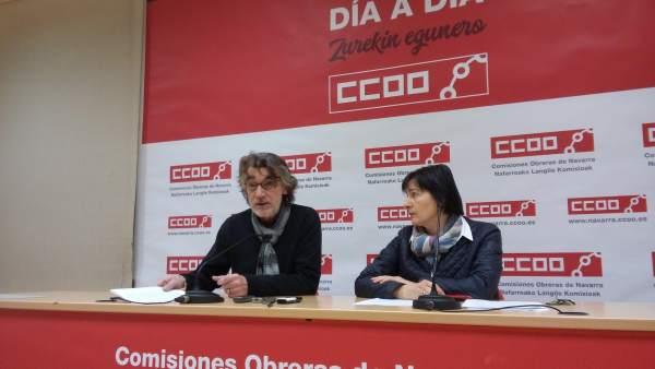 Chechu Rodríguez y Carmen Sesma