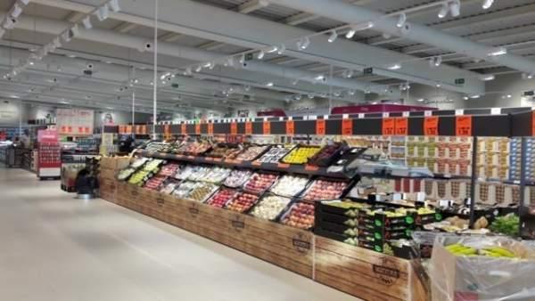 Supermercado Lidl en Málaga polígono industrial Alameda tienda