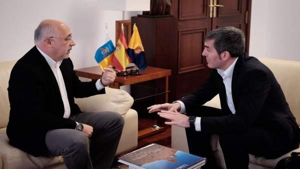 Antonio Morales y Fernando Clavijo