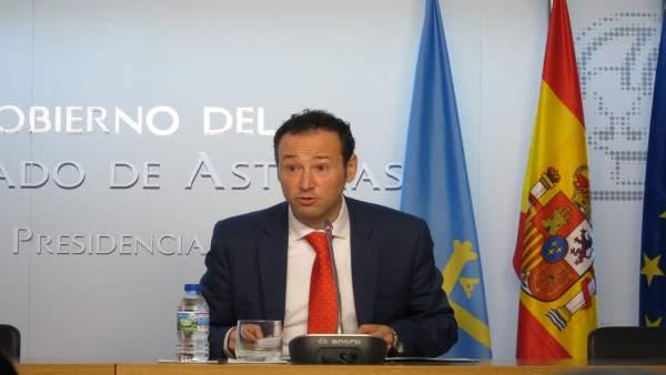 El consejero de Presidencia y Participación Ciudadana, Guillermo Martínez