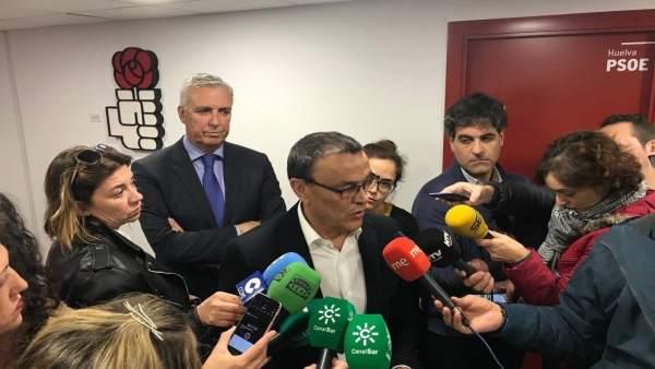 El presidente del Patronato Provincial de Turismo de Huelva, Ignacio Caraballo.