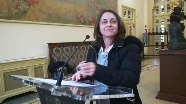 Olga Ballester, diputada de Cs Baleares
