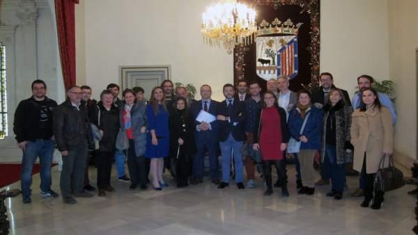 Presentación de la guía en el Ayuntamiento.
