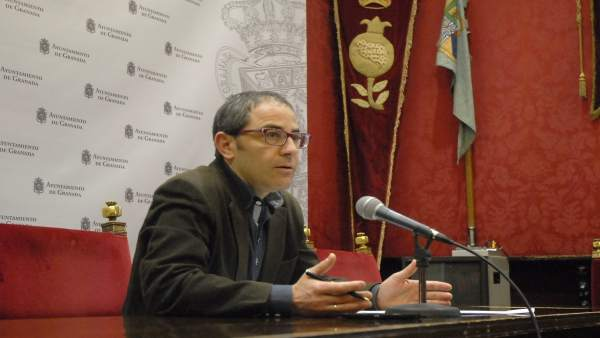 El concejal de Urbanismo de Granada, Miguel Ángel Fernández Madrid