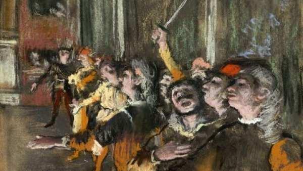 Les Choristes Degas
