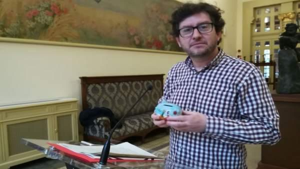 Alberto Jarabo, portavoz y diputado de Podemos