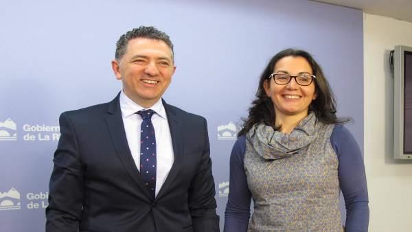 Cuevas y Sáenz informan ayudas a pequeños municipios