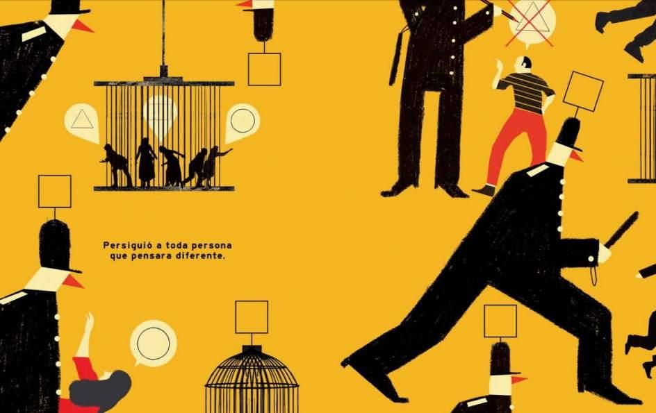 Una de las partes de 'Frank. La increíble historia de una dictadura olvidada'.
