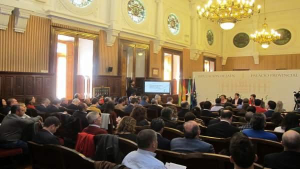 Reunión del Consejo de Alcaldes y Alcaldesas de la provincia de Jaén.