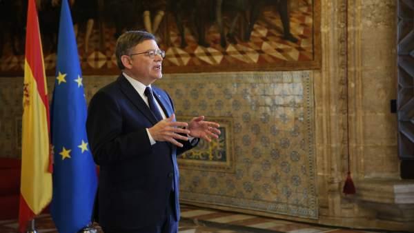 """Puig demana a García-Escudero """"normalitat democràtica"""" i que convoque la comissió de CCAA per a tractar el finançament"""