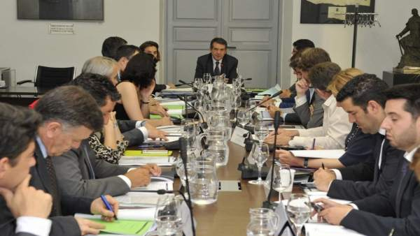 Ejecutiva de la FEMP presidida por Abel Caballero