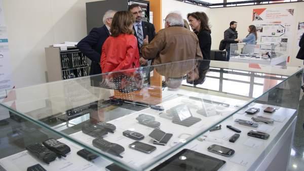 Exposición sobre la evolución de las TIC en la UJA