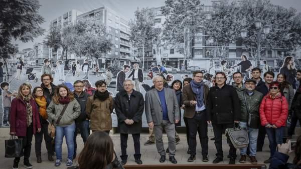 Joan Ribó reivindica en un acte públic el dret a caminar