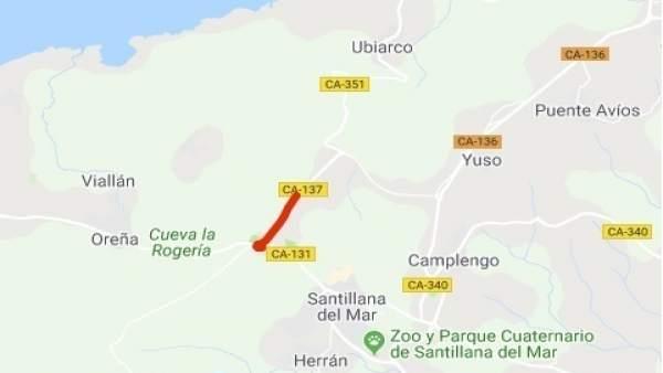VARIANTE DE SANTILLANA. Corte Por Argayo