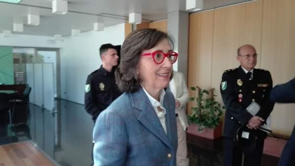 La consejera de Justicia e Interior, Rosa Aguilar